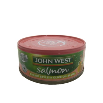 John West Salmon - Chunk Style In Olive Oil Blend 130g