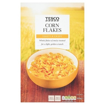 Tesco corn flakes cereal 500g