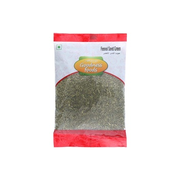 Goodness Foods Fennel Seed Green 100g