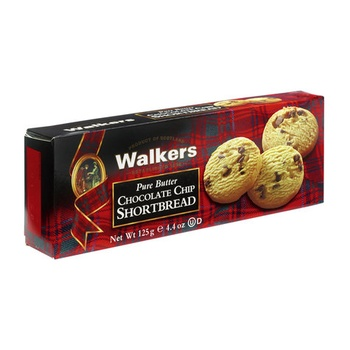 Walkers Pure Butter Shortbread Chocolate Chip 125g