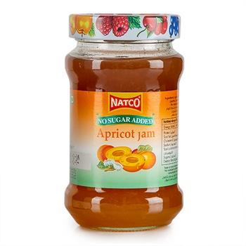 Natco sugar free (diabetic) jam apricot 400gm