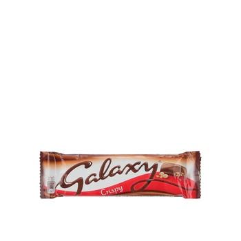 Galaxy Crispy Chocolate 36g
