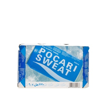 Pocari Sweat Drink Can 6 X 330ml