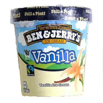 Ben & Jerry's Vanilla Ice Cream 473ml
