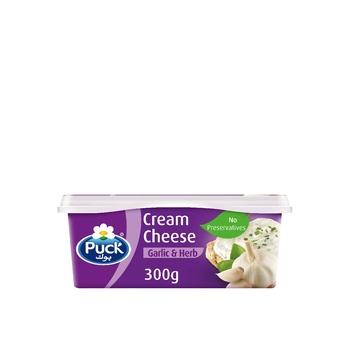 Puck Cream Cheese Garlic 300g
