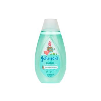 Johnson's 2 in 1 Kids Shampoo & Conditioner 200ml