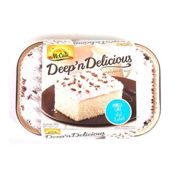 Mccain Vanilla Cake 18 Oz