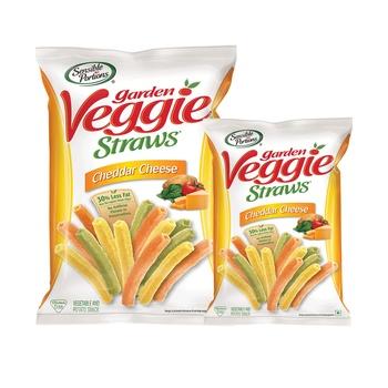 Sensible Portion Veggie Straw Cheddar Cheese 120g + 30g Free