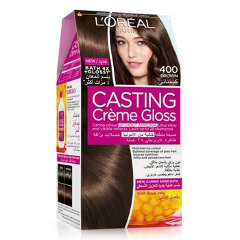 L'Oreal Paris Casting Cream Gloss Hair Color 400 Brown