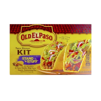 Old El Paso Taco Dinner Kit 249g