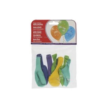 Balloon Happy Birthday -8pcs Pack