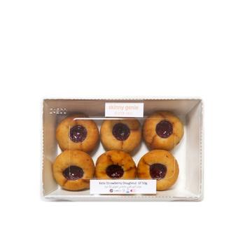 Skinny Genie Keto Strawberry Doughnut Gluten Free 50g 6 pcs