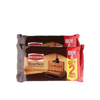 Britannia Bourbon 8X100g