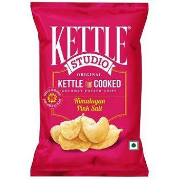 Kettle Studio Potato Chips Himalayan Pink Salt 47g
