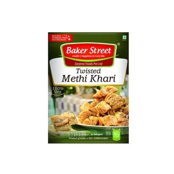 Baker Street Methi Twist Khari 200g