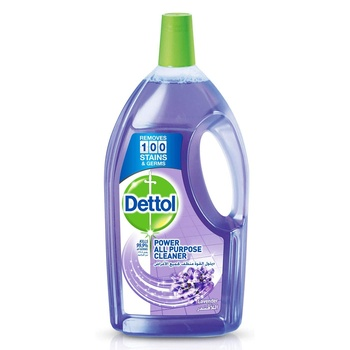 Dettol Antibacterial Floor Cleaner Lavender 900ml Pack of 2