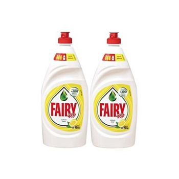 Fairy Dishwashing Liquid Soap - Lemon 2 x 750 ml @ 30% Off