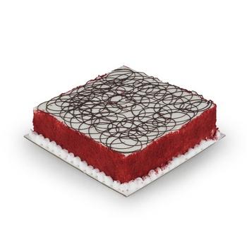 Vienna Bakery Red Velvet Cake With Chocolate