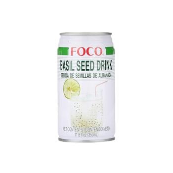 Foco Drink - Basil Seed 350ml