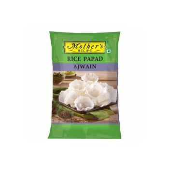 Mothers Recipe Rice Papad  Ajwain  -75g