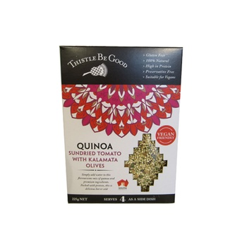 Thistle Be Good Quinoa - Sundried Tomato With Kalamata Olives 225g