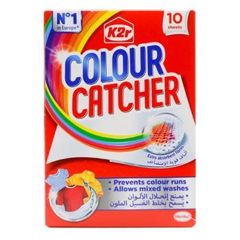 K2R Colour Catcher 10 Sheets