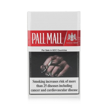 Pall Mall Cigarettes 8 Mg Red 20s