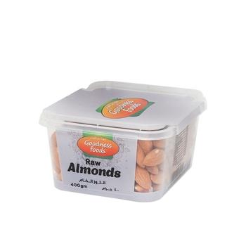 Goodness Foods Almonds 400g