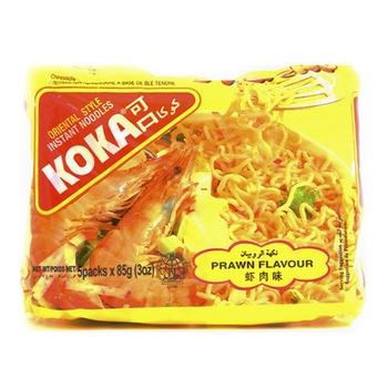 Koka Noodles Prawn 5 X 85g