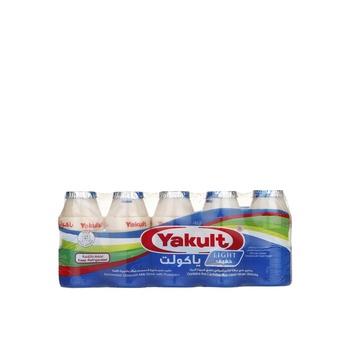 Yakult Cultured Milk Light 80ml Pack of 5