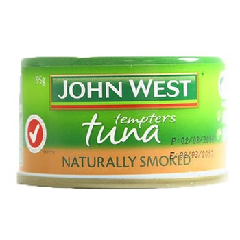 John West Tuna Tempters Smoked Naturally 95g