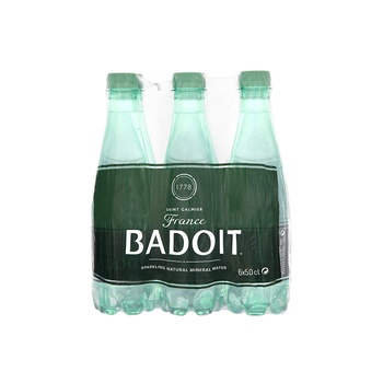 Badoit Sparkling Mineral Water 6 x 1 ltr
