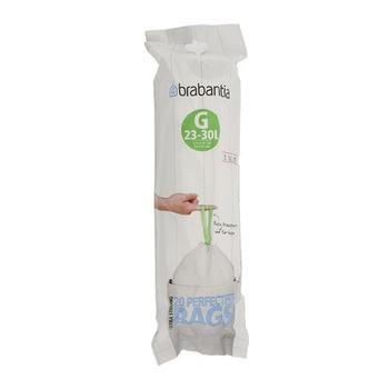 Brabantia Bin Liner Transparent - 30ltr