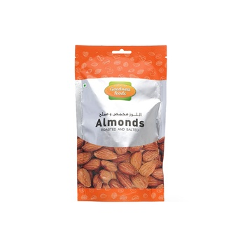 Goodness Foods Almonds Roasted & Salted Sp 200g