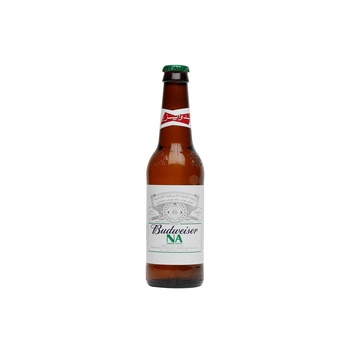 Budweiser Non-Alcoholic Malt Beverages Apple Bottle 355 ml