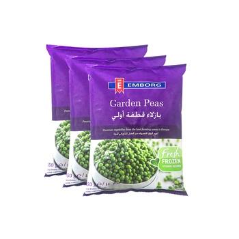 Emborg Garden Peas 450g 3 Pack