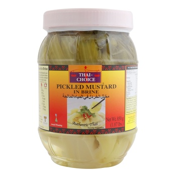 Thai Choice Pickeld Mustard In Brine 850g