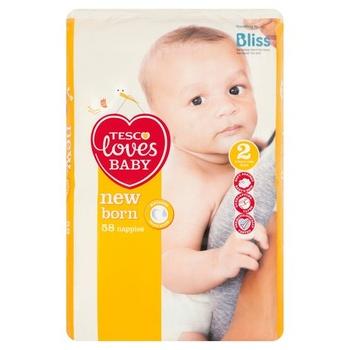 Tesco Loves Baby Newborn 2 58s