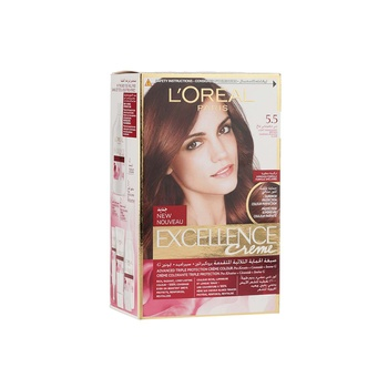 Loreal Excellence 5.5 Light Mahogany Brown