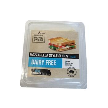 Dairy-Free Down Under Dairy Free Mozzarella Style Slices 200g