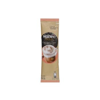 Nescafe Gold Cappucino Unsweetened 10x14.2 g
