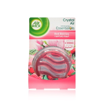 Air Wick Air Freshener Crystal Air Gel Flowering Raspberry 16ml