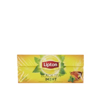 Lipton Yellow Label Tea -Mint 25X2.3gm