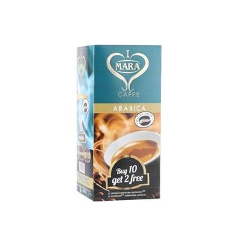 Mara Caffe Arabica Nespresso Compatible (12 X 5.5 gm)