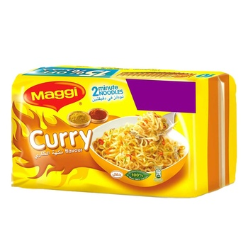 Maggi Curry Noodle 10x79g