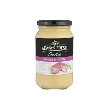 Always Fresh Garlic Finely Minced 400g