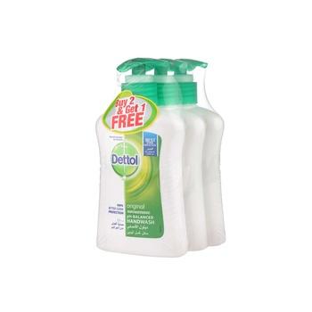 Dettol Original Handwash 2 x 200 ml + 200 ml Free