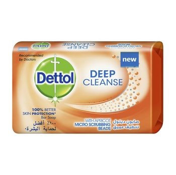 Dettol Deep Cleanse Bar Soap 165g