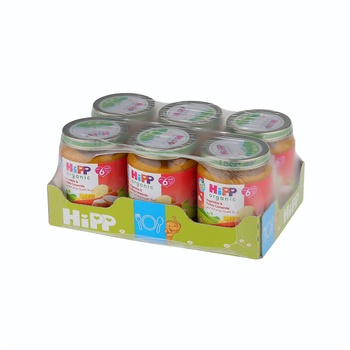 Hipp  Vegetable & Turkey Casserole 6X125g