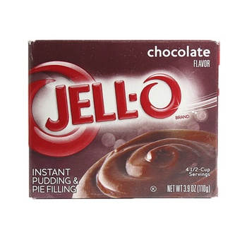 Jell-O instant pudding chocolate mix 3.9oz